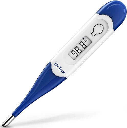 Dr Trust (USA) Waterproof Flexible Tip Digital Thermometer